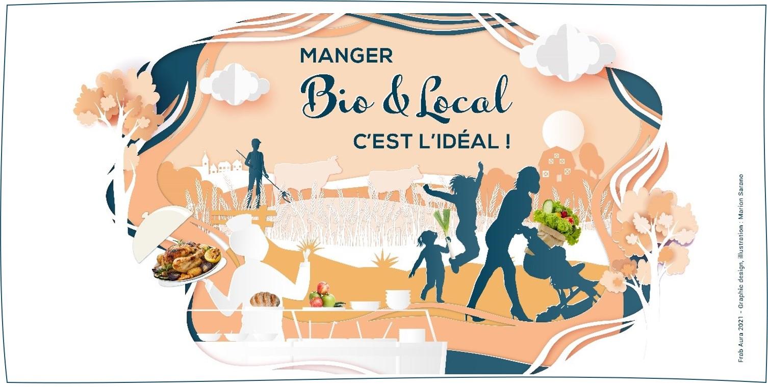 Manger bio et local, c'est l'idéal !